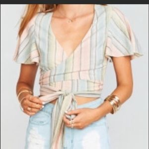 NWT show me your mumu tie top multiway. Size small